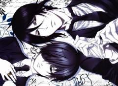 Manga Kuroshitsuji [Sebastien & Ciel]