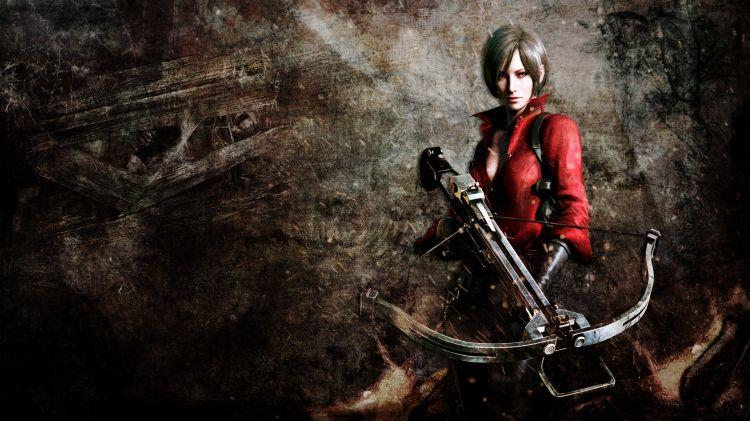 Fonds d'écran Jeux Vidéo Resident Evil 6 Ada Wong