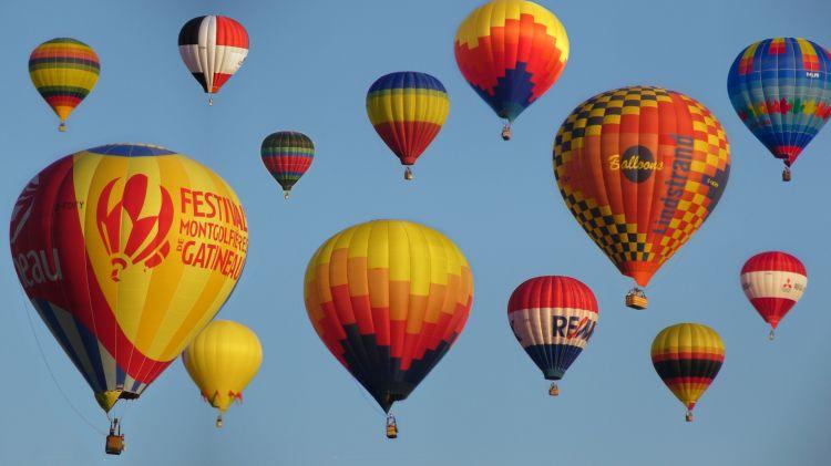 Wallpapers Planes Balloons - Airships Festival de la montgolfière - Gatineau, Qc.