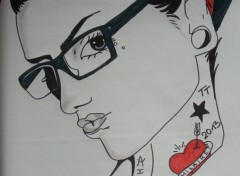 Art - Pencil Dessin femme