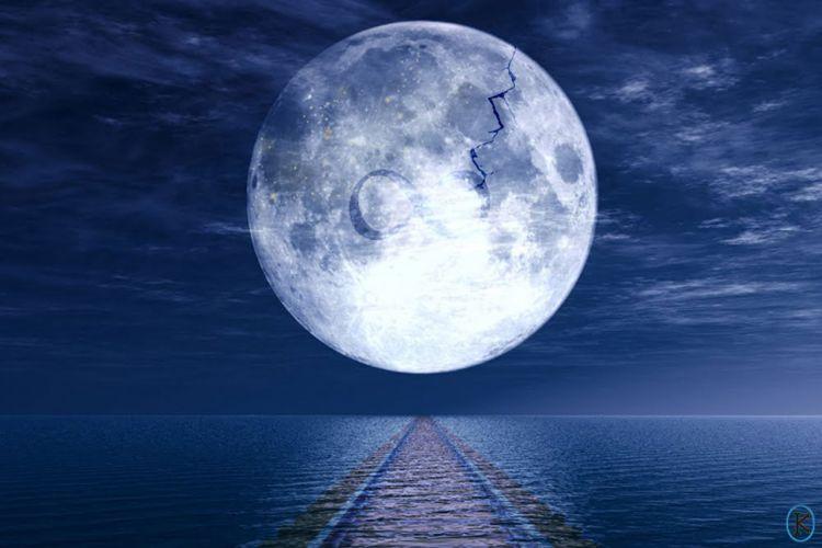 Fonds d'écran Art - Numérique Espace - Univers Lune