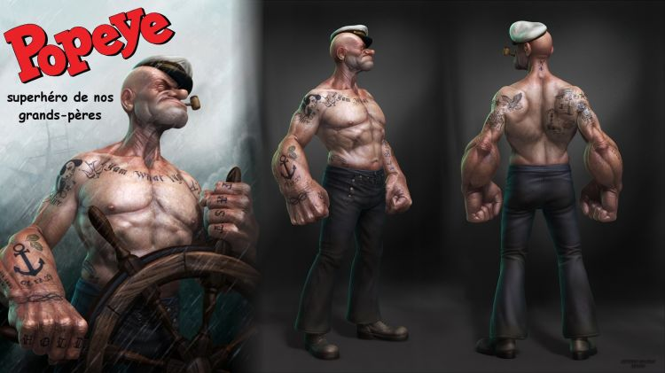 Wallpapers Humor Parodies Popeye