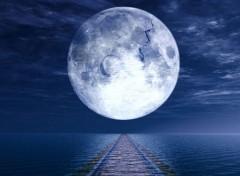Art - Numérique Lune