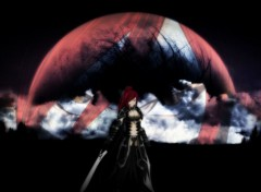 Manga Erza Scarlet - Moon reflect