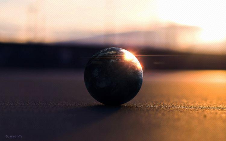 Fonds d'écran Art - Numérique Espace - Univers Shiny Ball
