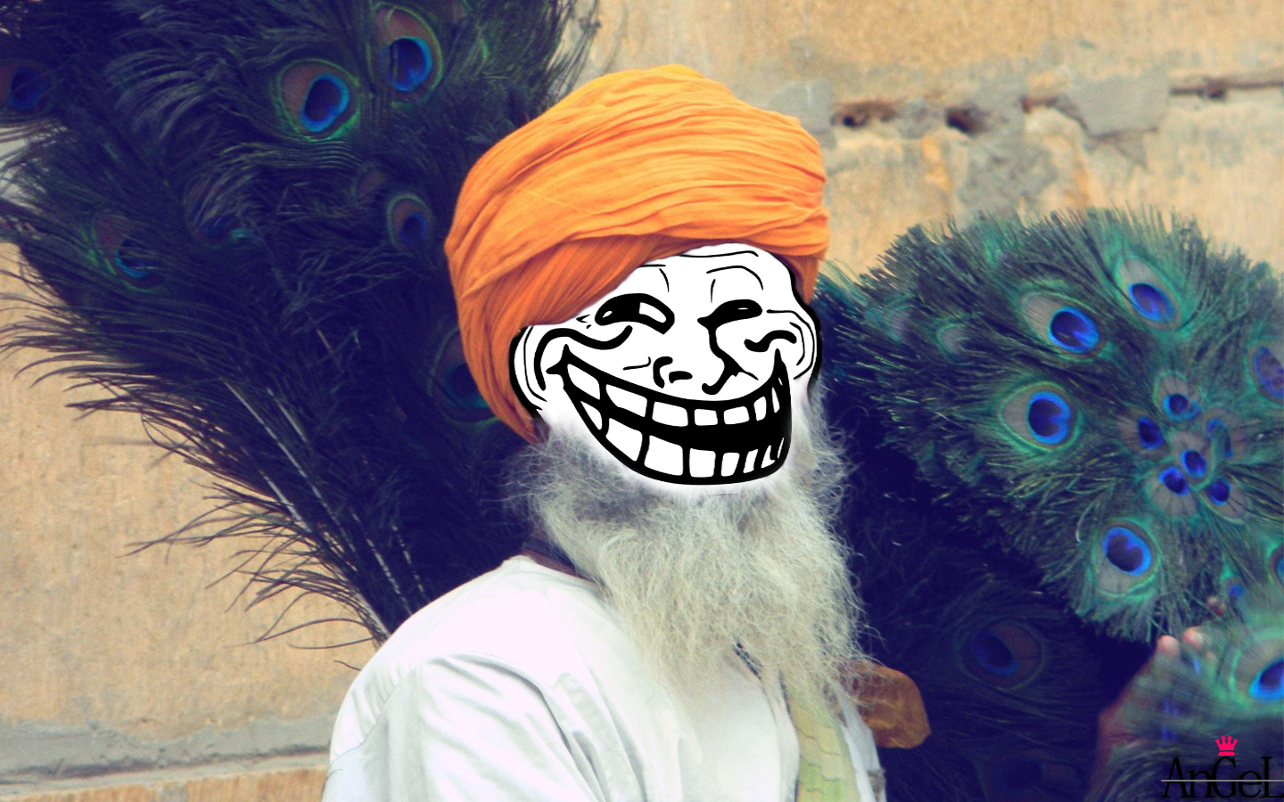 Wallpapers Humor Troll Face