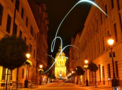 Digital Art Budapest By Night