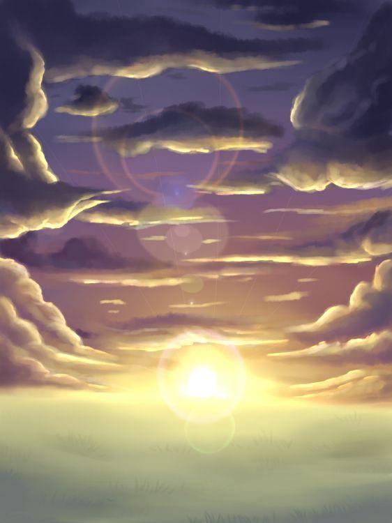 Fonds d'écran Art - Numérique Nature - Paysages sky