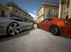 Video Games Mercedes AMG Vision Gran Turismo & Toyota 86 GT '12