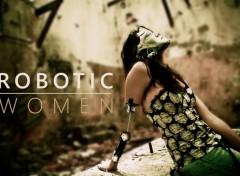 Digital Art Robotic Women