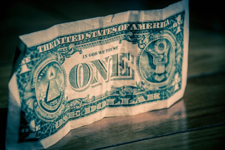 Fonds d'écran Objets Monnaies - Billets One Dollar