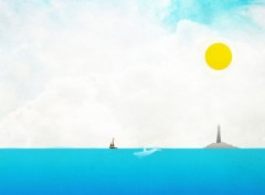 Art - Numérique Beautiful day at sea