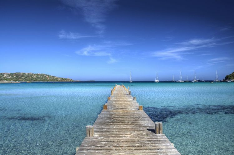 Wallpapers Nature Paradisiac Islands Plage de Santa Giulia - Corse du Sud