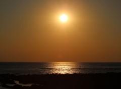 Nature coucher de soleil Atlantique