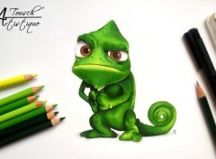 Art - Pencil Pascal (Raiponce)