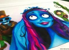 Art - Crayon Les Noces Funèbres