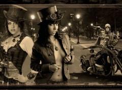 Fantasy et Science Fiction Moto Steampunk
