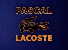 Digital Art Lacoste Personnaliser Pascal