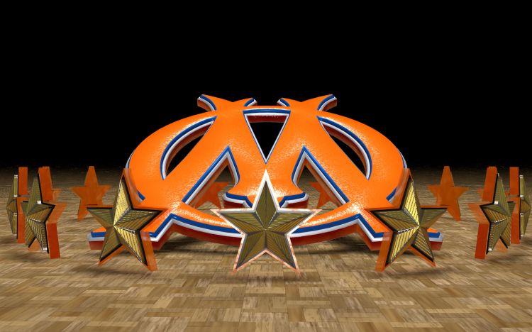 Fonds d'écran Sports - Loisirs OM orange OM