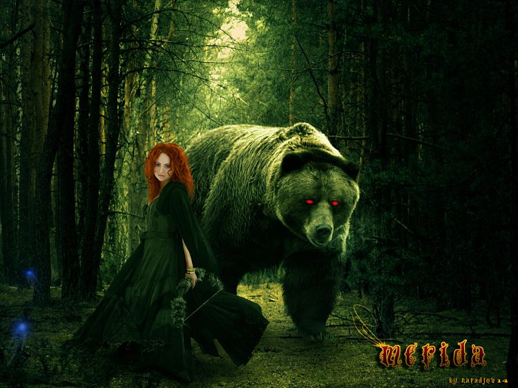Wallpapers Fantasy and Science Fiction Miscellaneous Characters Merida