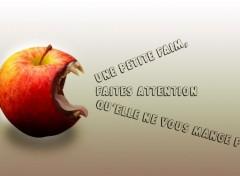 Art - Numérique Une pomme croquante !