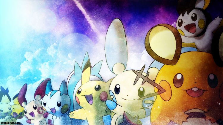 Fonds d'écran Jeux Vidéo Pokemon Pika Pika