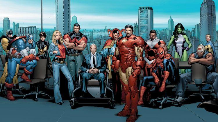 Wallpapers Comics Avengers Wallpaper N°370190
