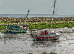 Bateaux marée basse