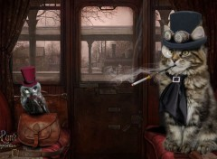 Fantasy and Science Fiction Animal Steampunk