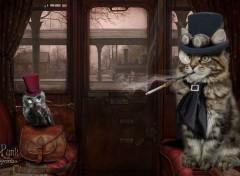 Fantasy et Science Fiction Animal Steampunk