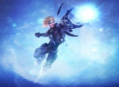 Fonds d'écran Jeux Vidéo League of Legends: Ezreal Pulsefire