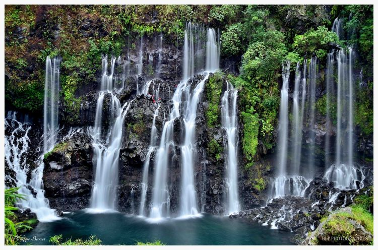 Wallpapers Nature Waterfalls Cascade Grand-Galet