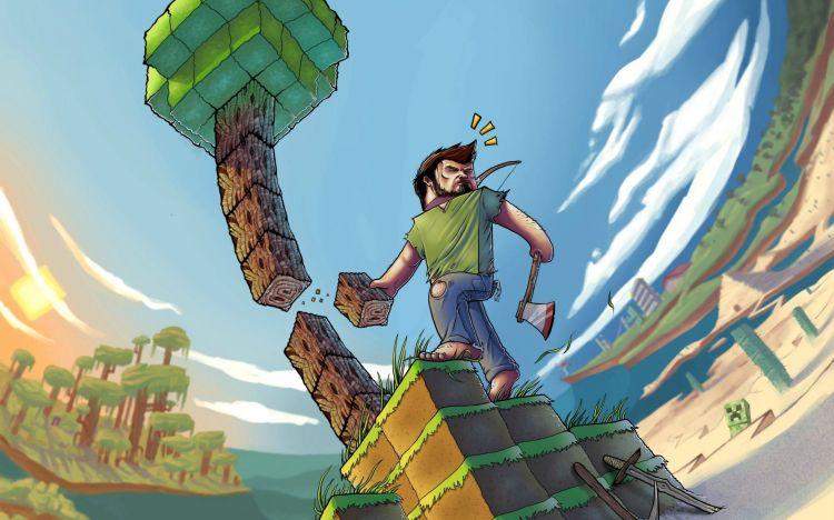 Wallpapers Video Games Minecraft Wallpaper N°374167
