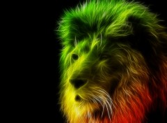 Digital Art Lion of Judah
