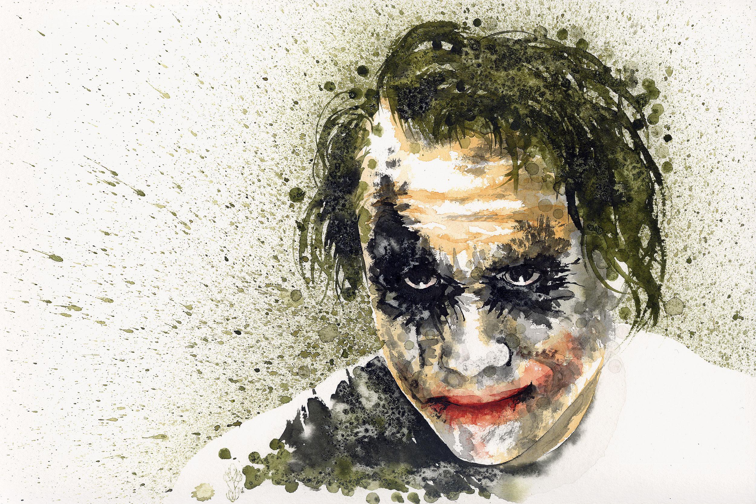 Fonds d'écran Art - Peinture Personnages Joker