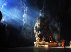 Voyages : Asie temple bouddhiste de Myanmar