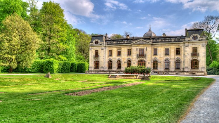 Wallpapers Constructions and architecture Castles - Palace Château d'Enghien 2