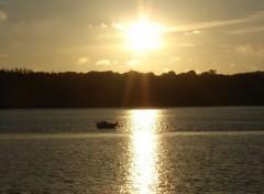 Voyages : Europe coucher de soleil breton