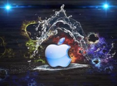 Informatique apple liquide