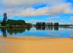 Nature Lac de Vesoul (vue sur la plage)