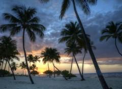 Voyages : Europe Coucher de soleil Guadeloupe