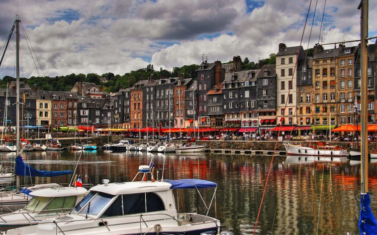 Wallpapers Trips : Europ France > Normandie Honfleur