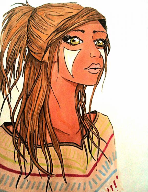 Fonds d'écran Art - Crayon Personnages Wallpaper N°378712