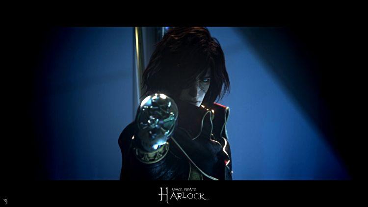 Fonds d'écran Manga Albator Harlock