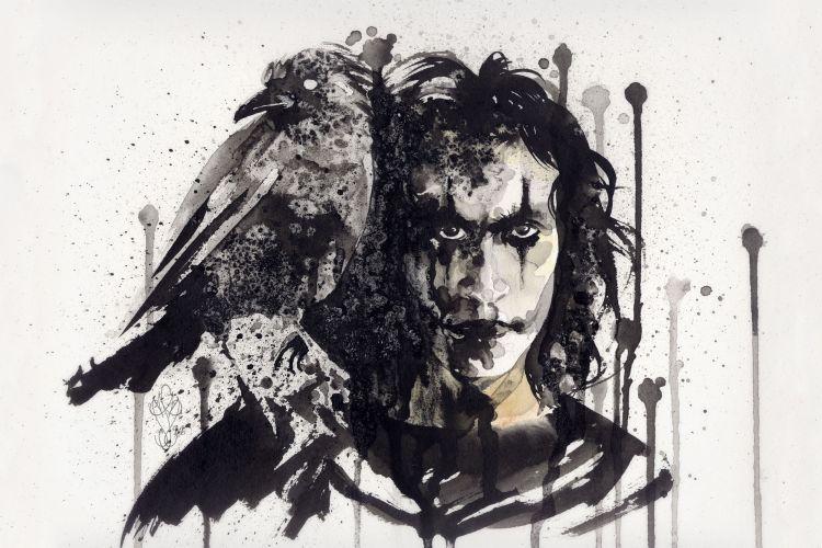 """Fonds d'écran Cinéma The Crow """"The Crow"""""""