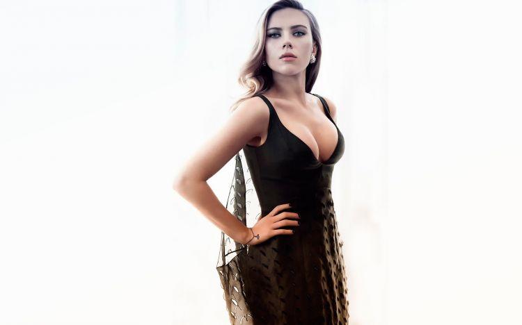 Fonds d'écran Célébrités Femme Scarlett Johansson Wallpaper N°382648