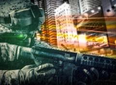 Video Games Photomontage Battlefield
