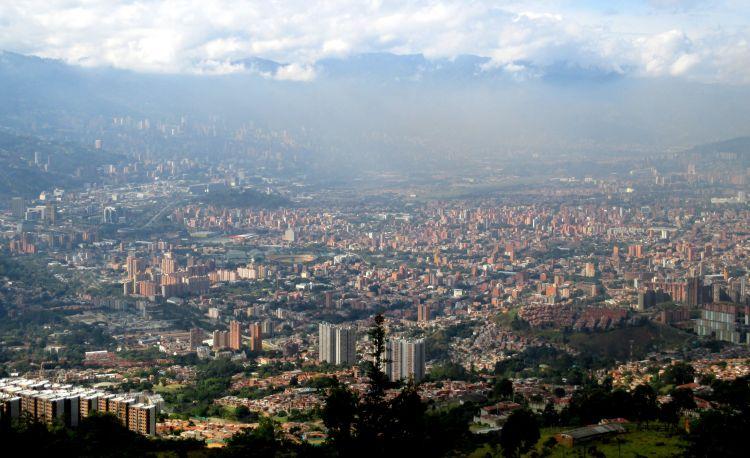 Wallpapers Trips : South America Colombia Medellin, capitale de la montagne