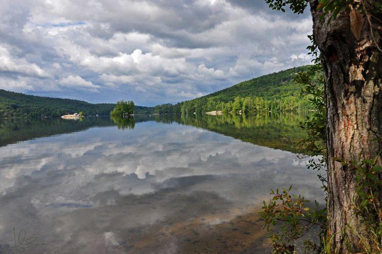 Fonds d'écran Nature Lacs - Etangs Lac de Greenwood - Maine (USA)