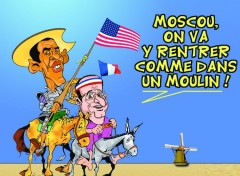 Humour HOLLANDE PART EN GUERRE ...